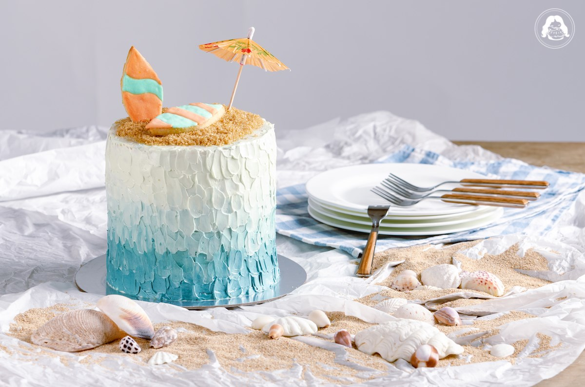 Beach Themed Cake JESBAKES
