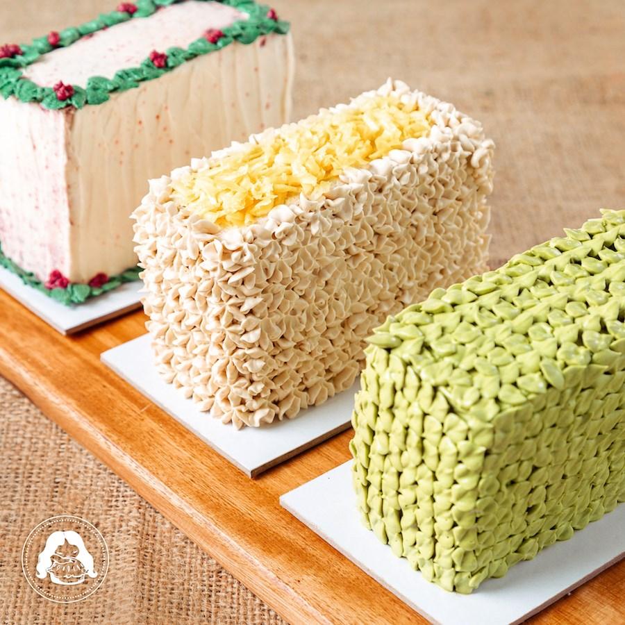 Christmas Themed Trio Cake JESBAKES