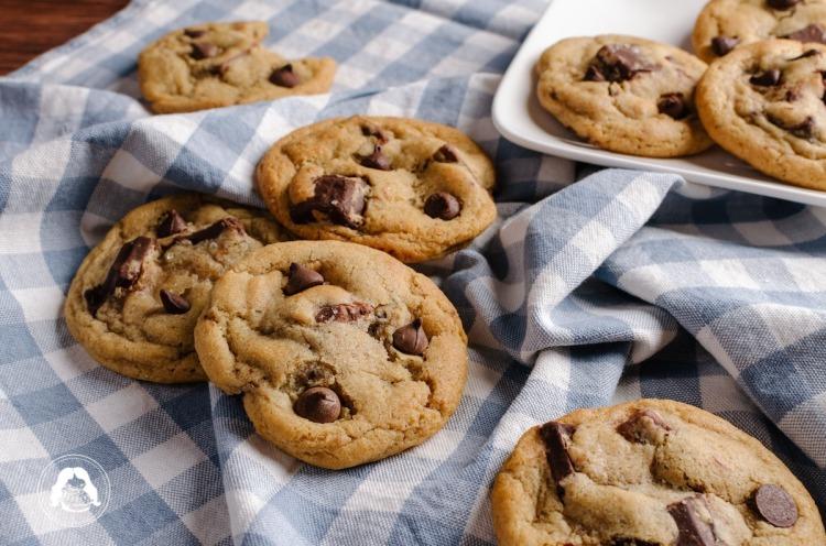 Dark Chocolate Macadamia Cookies JESBAKES