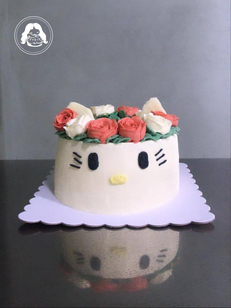 Hello Kitty Design Cake JESBAKES
