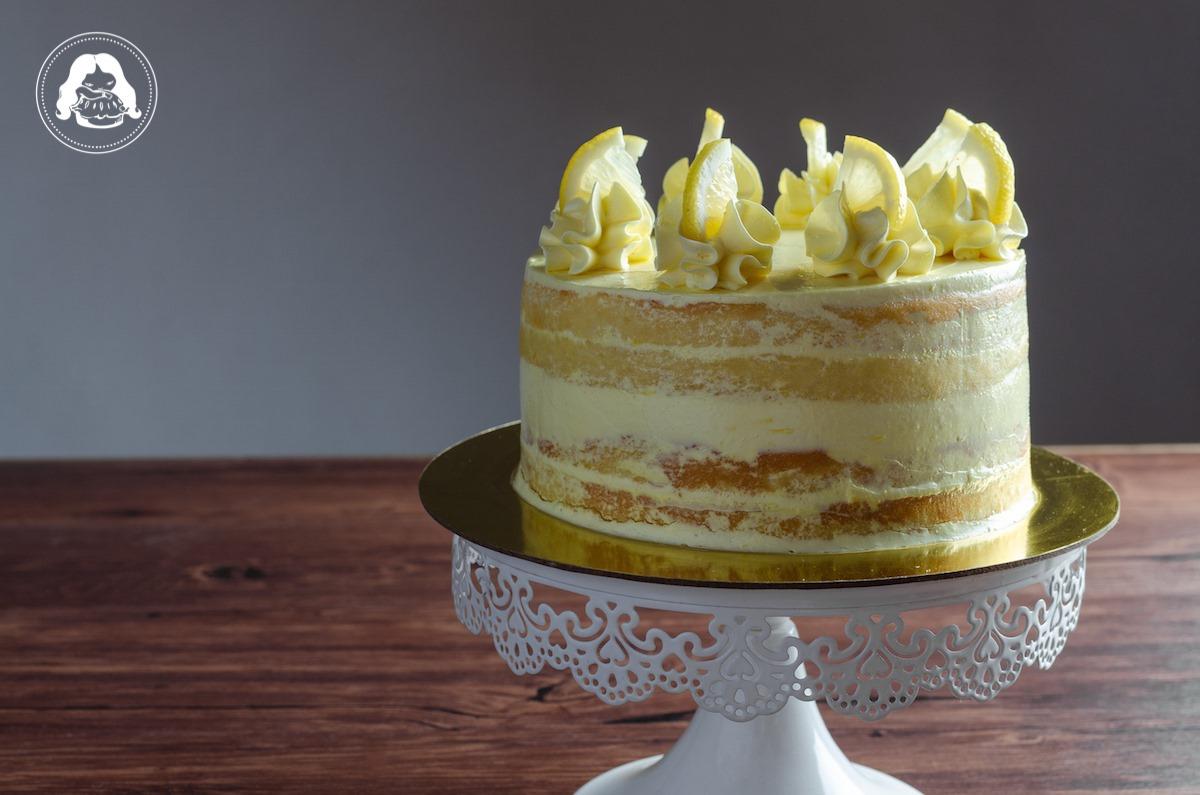 Lemon Layer Cake Lemon Custard Filling JESBAKES