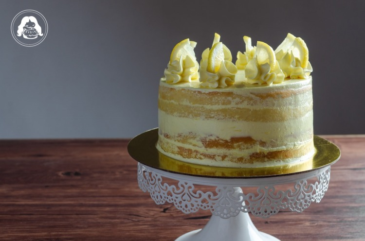 Lemon Layer Cake Lemon Custard Filling JESBAKES