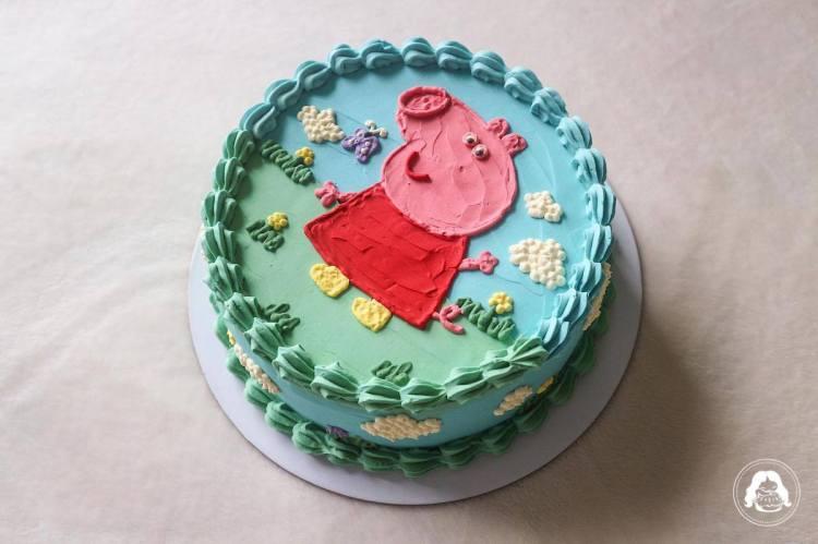 Peppa Pig Cake JESBAKES